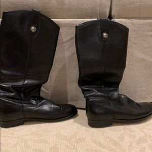 Melissa Lug Tall Frye boots in amazing condition!